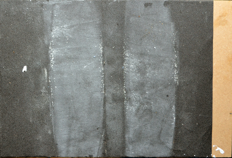 After Image 7: 2014, oil & glass paper on panel, 20.5cm x 35.5cm]